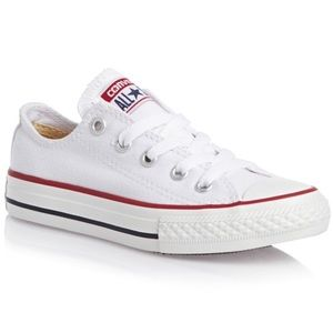 White Converse Chuck Taylor all star low top